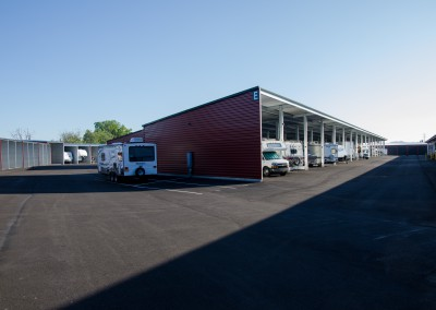 Covered RV Spaces and Paved