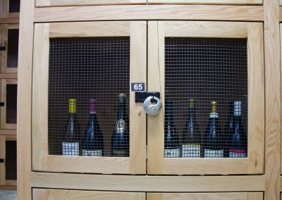 Wine lockers 1