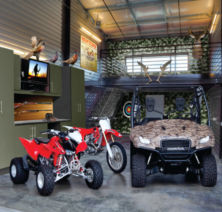 Man caves multi purpose storage in sherwood or sentinel for Man cave storage